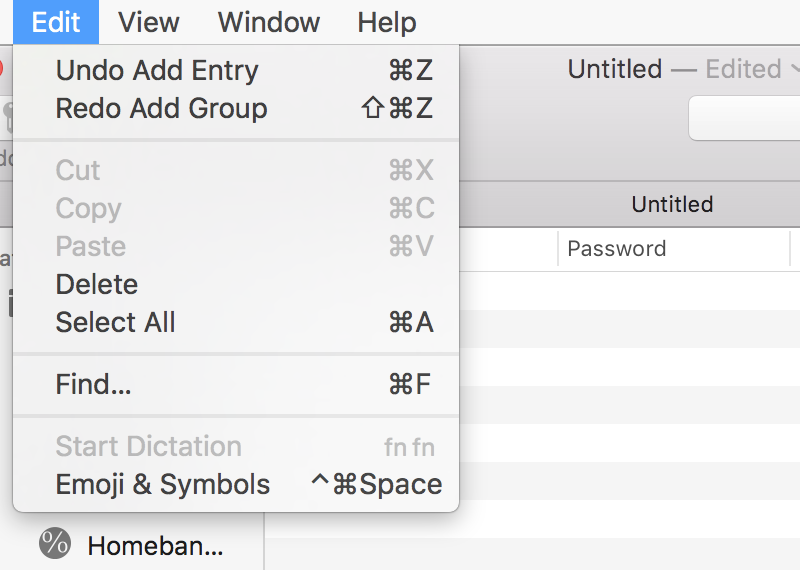 MacPass - a KeePass compatible port for macOS